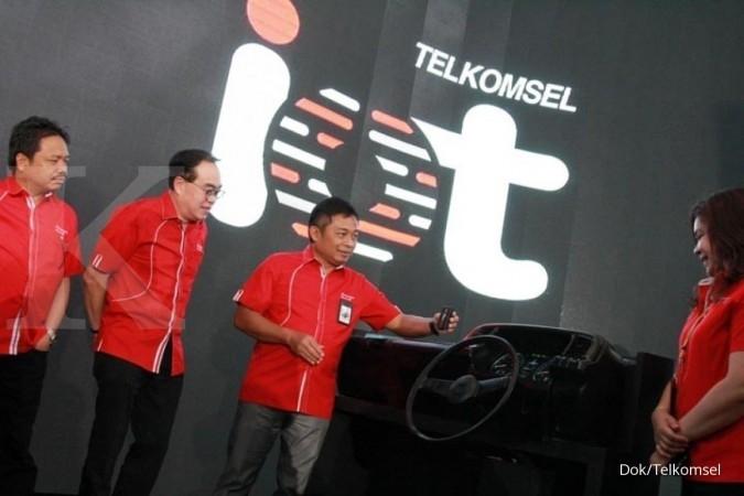 Telkomsel bidik 190 juta pengguna di akhir 2017