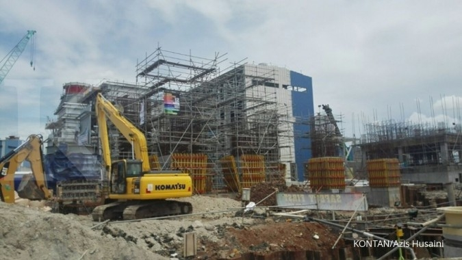 Saham-saham konstruksi mulai bangkit