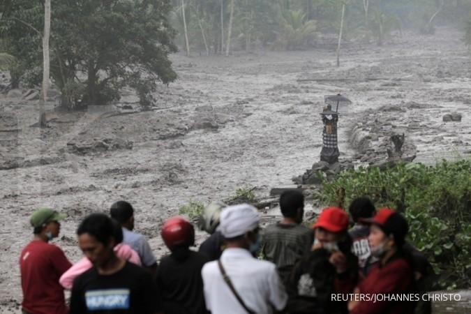 Kemtan selamatkan ternak warga di Gunung Agung