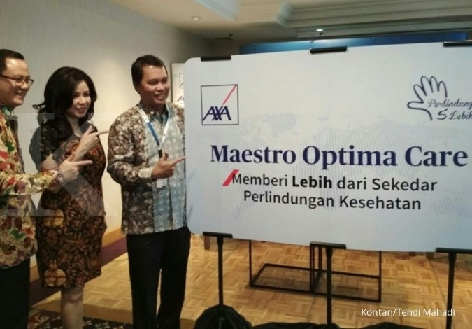 Axa Financial luncurkan asuransi kesehatan anyar