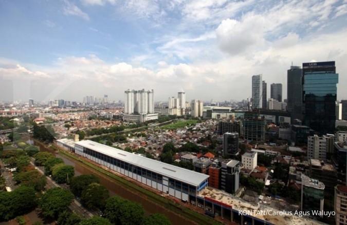 Cuaca di Jakarta cerah dan berawan hari ini