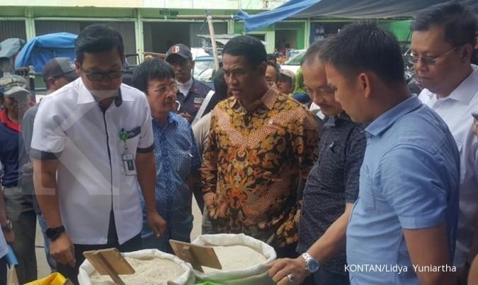 Menteri Pertanian sidak di Pasar Induk Cipinang
