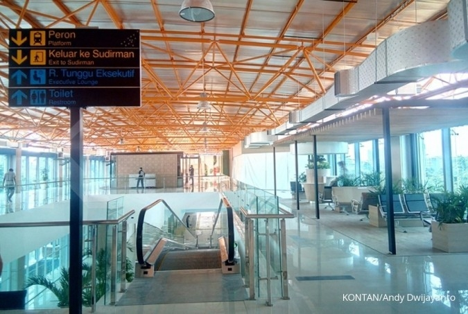 Stasiun Sudirman siap dilintasi kereta bandara