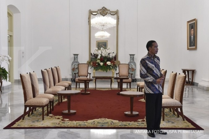 Jokowi kecewa pengelolaan anggaran kementerian