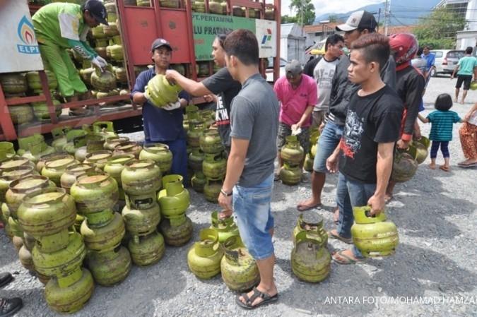 Di Depok, gas LPG 3 kilogram kian sulit ditemukan