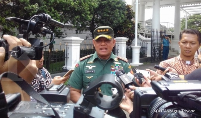 Reaksi Gatot soal peluang dampingi Jokowi