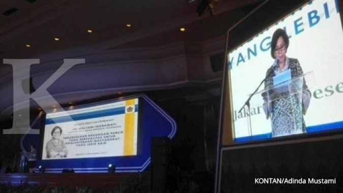 Sri Mulyani pasang outlook ekonomi 2017 5,15%