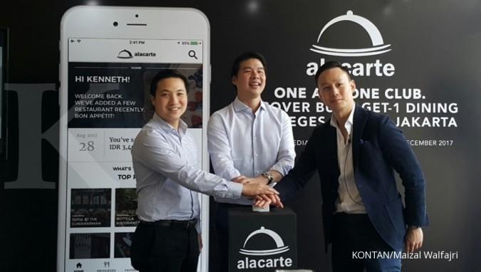Club Alacarte sudah disuntik angel investor