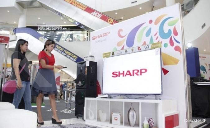 Sharp gelar program belanja di tiga kota