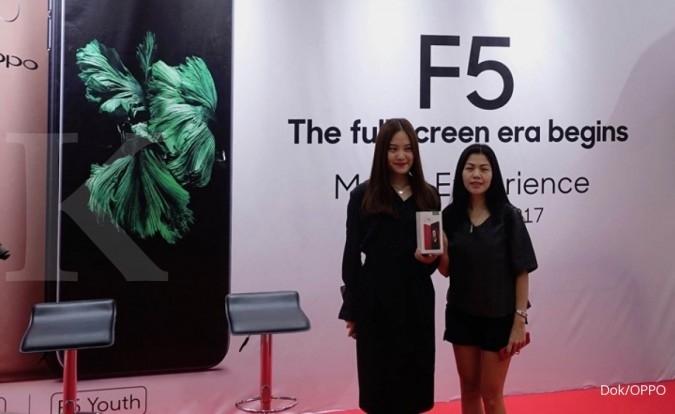 Hari ini Oppo luncurkan varian F5 baru di 2018