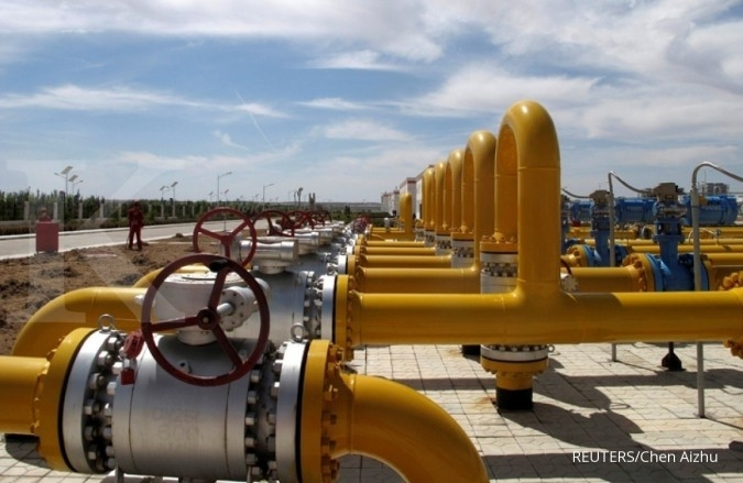 Musim dingin ekstrem memantik harga gas alam