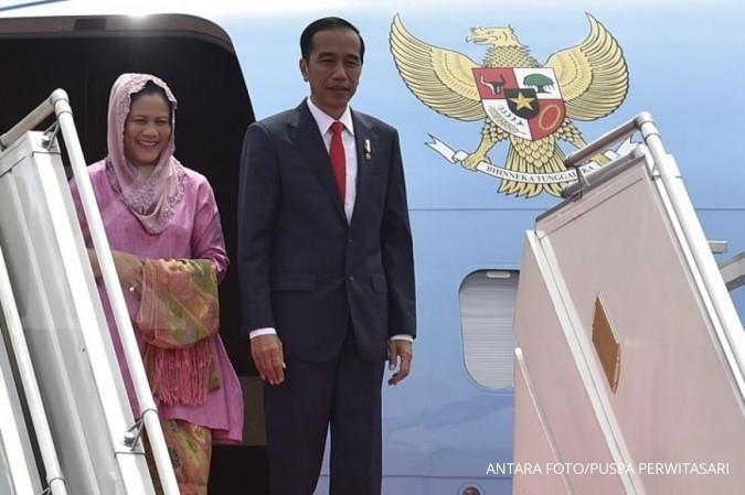 Hadiri sidang OKI, Jokowi bertolak ke Istanbul