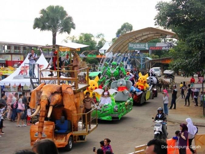Taman wisata Kampung Gajah Bandung pailit