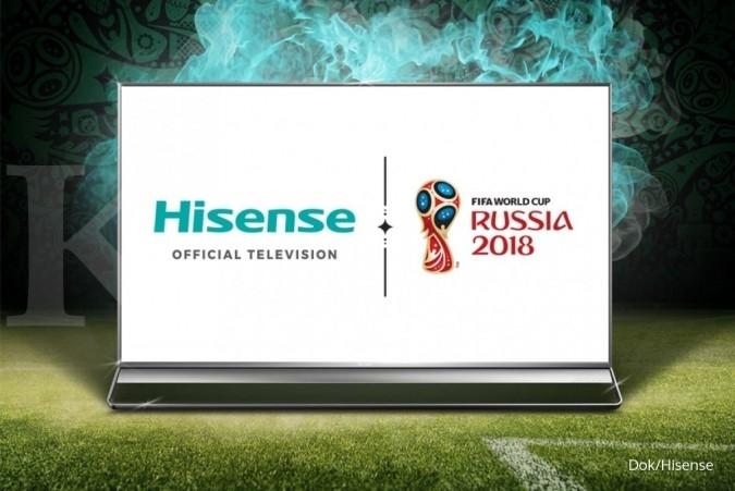 Hisense jadi sponsor resmi Piala Dunia 2018