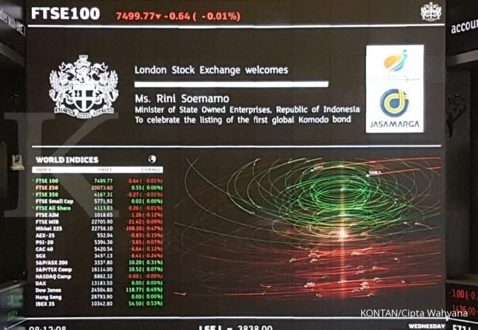 Sejarah baru: JSMR catatkan Komodo Bond di London