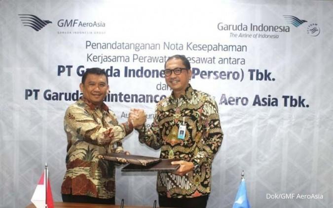 GMF dan Garuda kerja sama perawatan pesawat