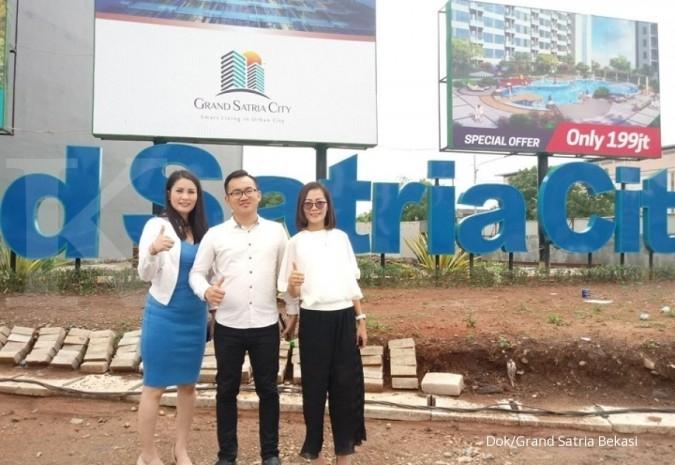 Apartemen Grand Satria City menyasar kaum milenial