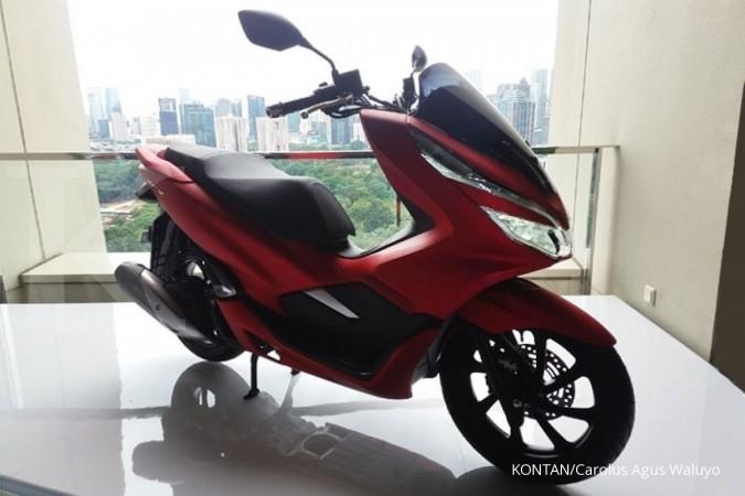 Honda PCX produksi lokal resmi dipasarkan