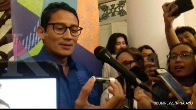 Sandiaga: Pak Prabowo profesional, tidak pernah minta mahar