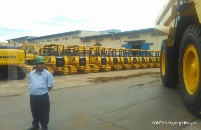 Produksi alat berat Komatsu naik 80% di 2017