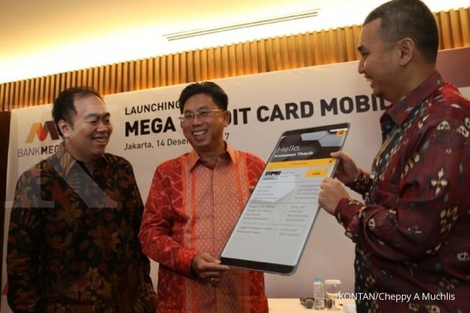 Bank Mega raih cuan dari bunga kartu kredit susut