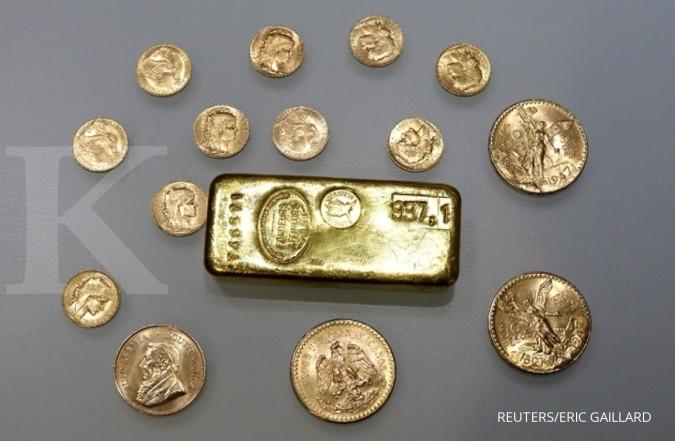 Harga emas masih bergerak di kisaran sempit