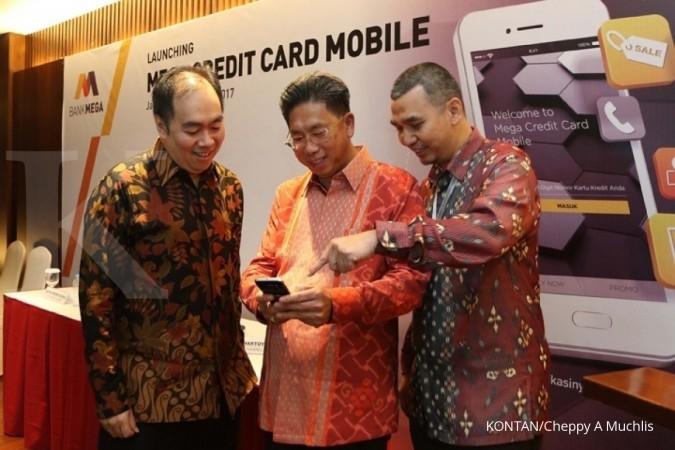 Transaksi kartu kredit Bank Mega dibidik Rp 36 T