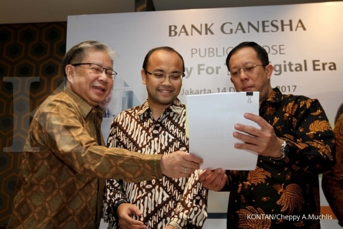Bank Ganesha belum terpengaruh take over kredit
