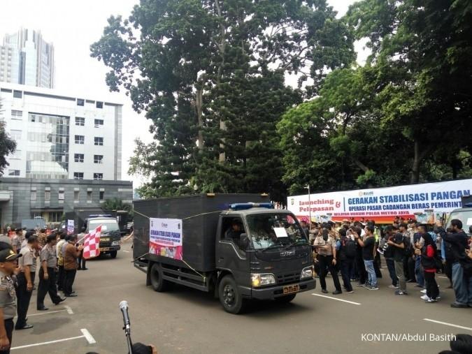 Bulog mulai operasi pasar beras 500 ton di DKI