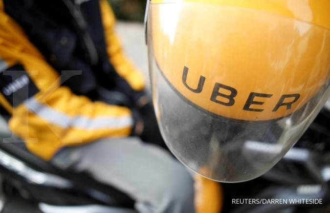 Paparan tren pengguna Uber sepanjang 2017