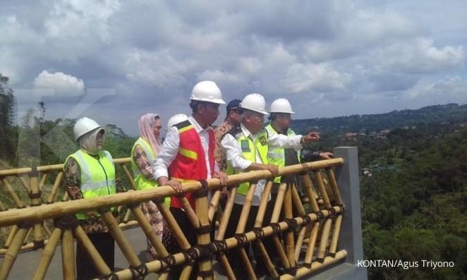 Jokowi: Waduk Cimahi dan Sukamahi selesai 2019