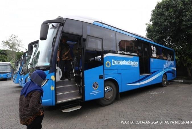 Transjabodetabek Premium beredar di Tangerang