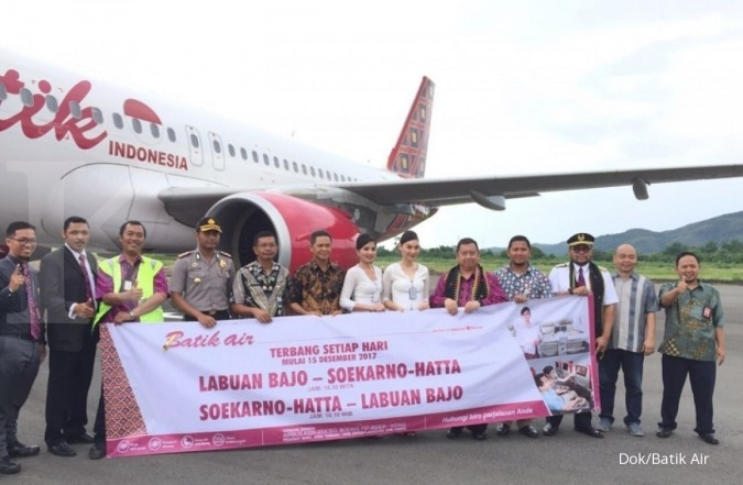 Batik Air resmi buka rute baru ke Labuan Bajo