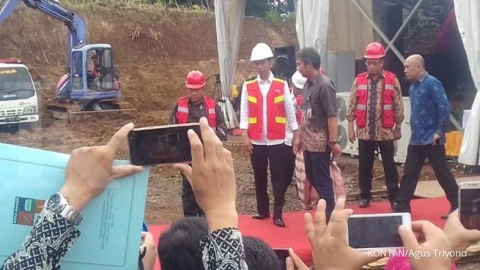 Proyek jalur ganda kereta Bogor-Sukabumi dimulai