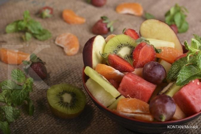 Hadang virus Covid-19 dengan rutin konsumsi vitamin, makan teratur, dan berolahraga