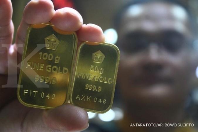 Emas bisa jadi pilihan awal untuk investasi para milenial