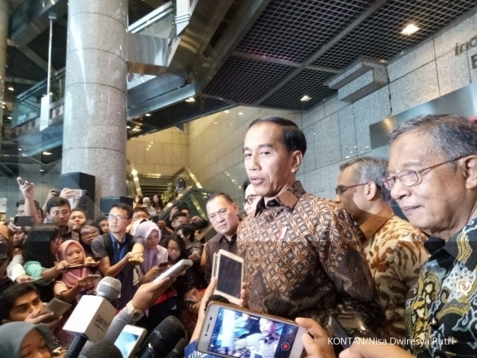 Jokowi sides with Susi on ship sinking controversy