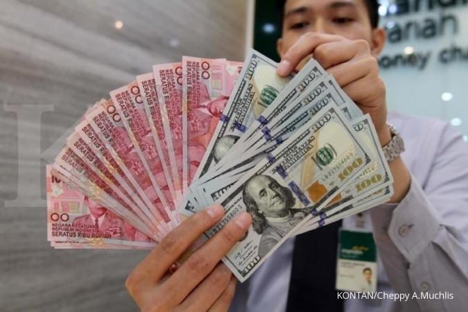 Kurs rupiah terapresiasi atas dollar AS di sepanjang pekan ini