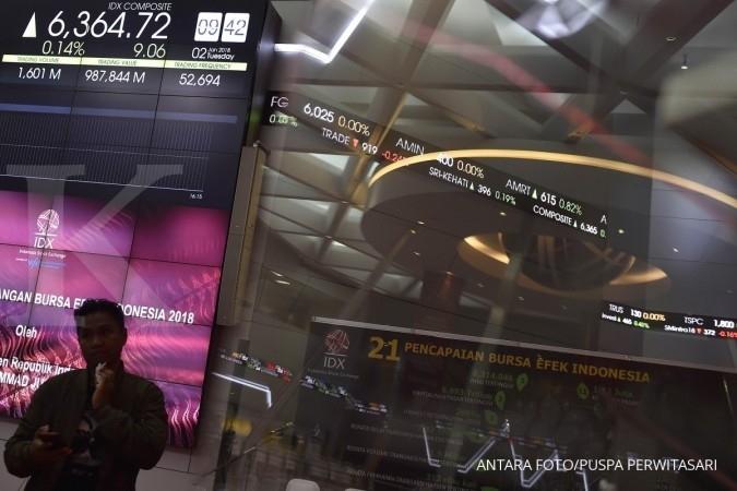Tiga saham menyentuh rekor baru