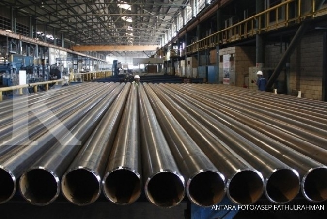 Pembangunan klaster industri baja akan dipercepat