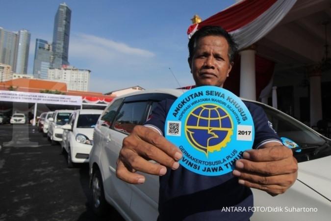 Penegakan hukum taksi online mulai Februari
