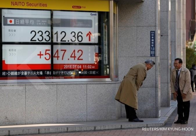 Bursa Asia solid, MSCI Asia Pasifik sentuh rekor