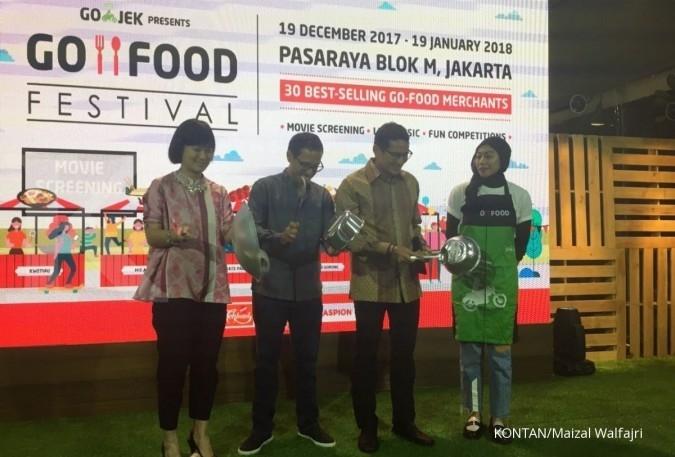 GoFood Festival didatangi 4.000 pengunjung/hari