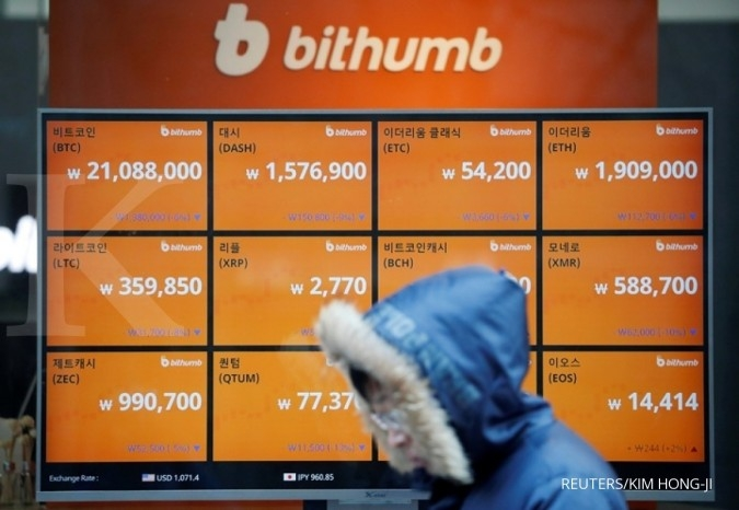 Korsel berencana tutup semua bursa bitcoin lokal