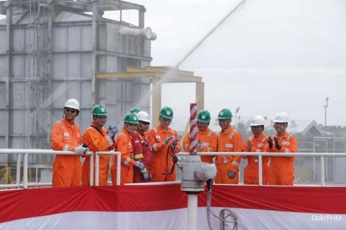 Pertamina Hulu Mahakam makes first crude oil shipment