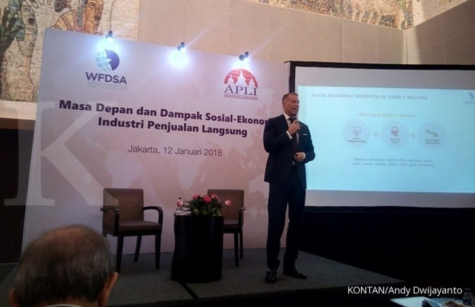 Transaksi penjualan langsung Indonesia tembus Rp 15,75 triliun