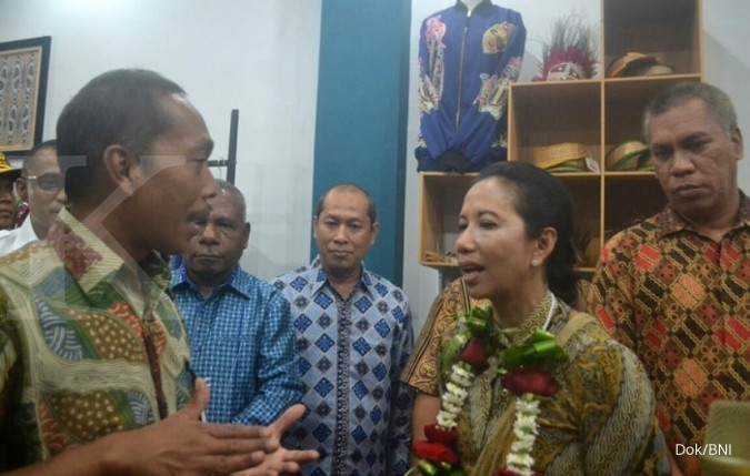 Bank BNI kerja sama penggunaan properti oleh AirNav di Papua