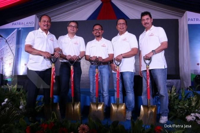 Patra Jasa topping off apartemen Urbano berkonsep TOD di Bekasi
