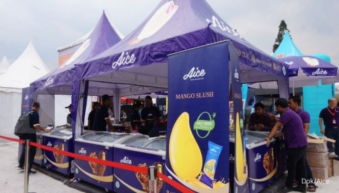 Aice ice cream produksi PT Alpen Food Industry