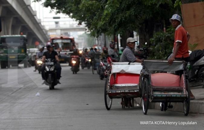 Anies: Pengoperasian becak disesuaikan kebutuhan warga